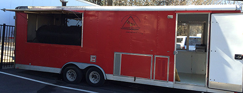 BBQ Food Trailer For Lease - Concession Trailer