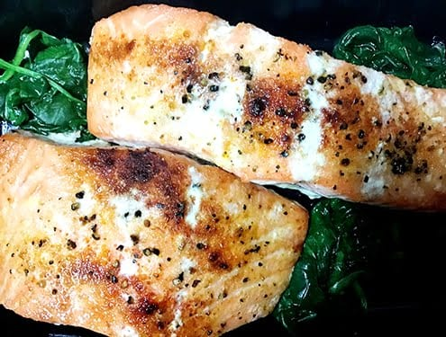 Catering Salmon Meal Prep