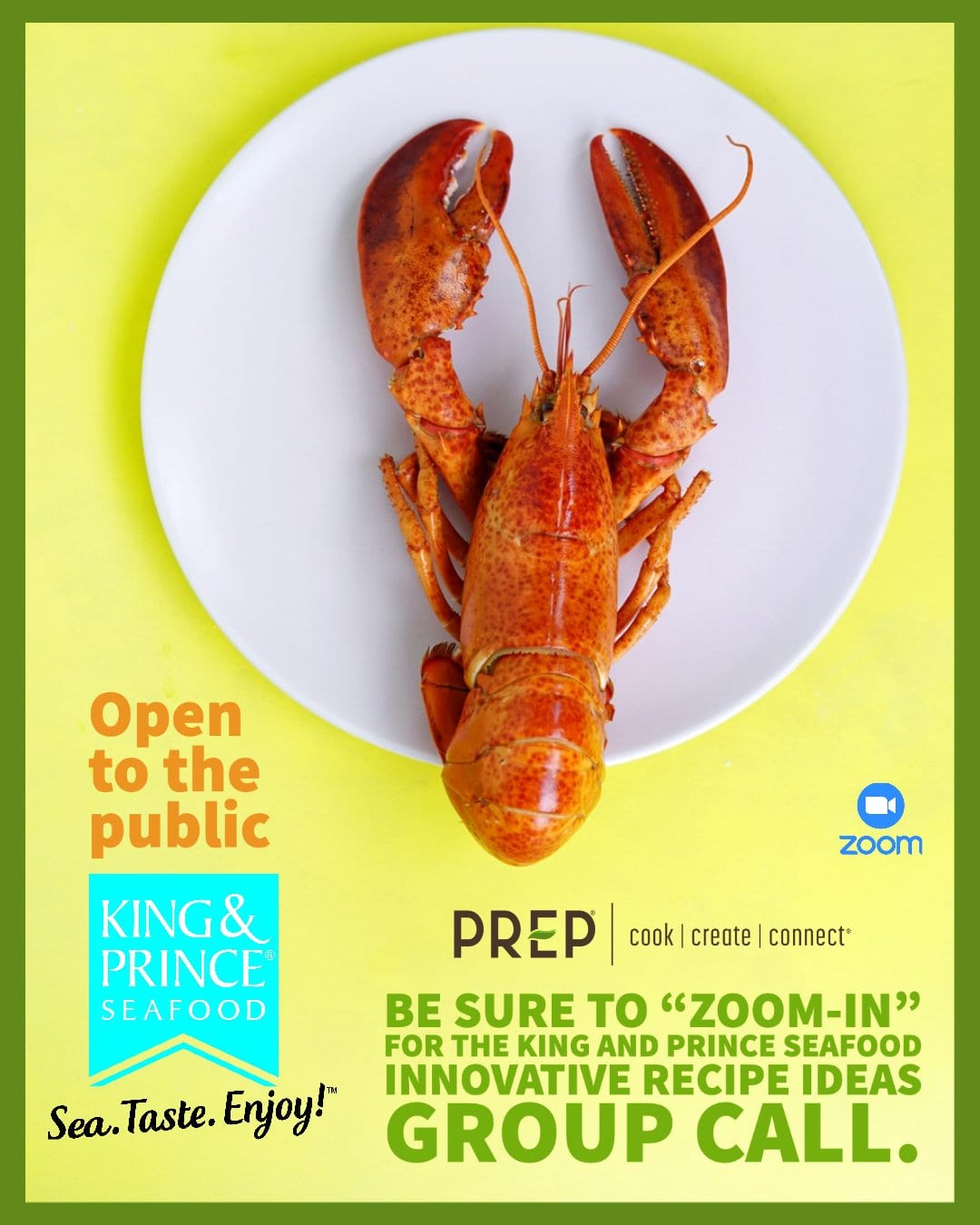 PREP Lobster Zoom Call